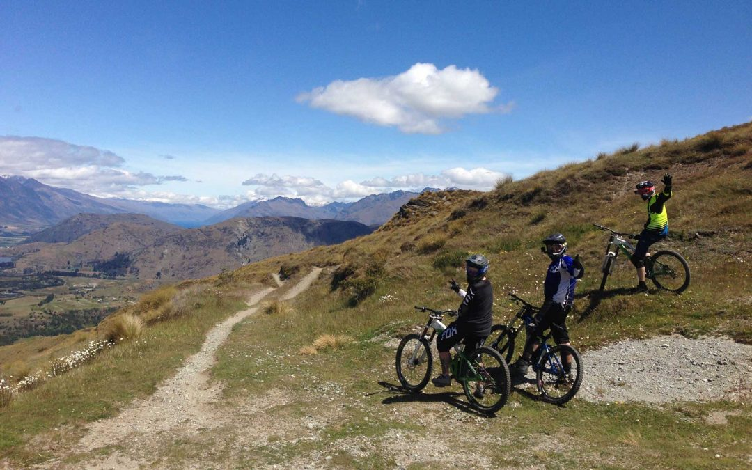 Cycling in Queenstown