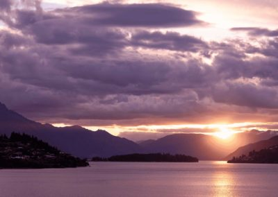 Queenstown Lake Sunset