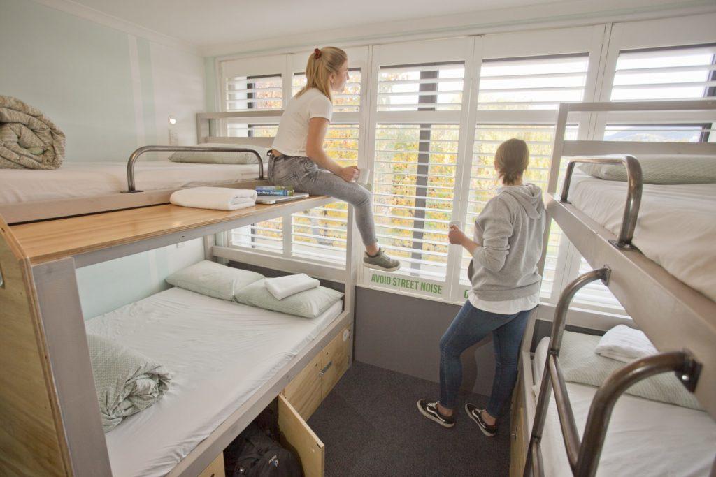 Queenstown View, 4 Bed Dorm En-Suite Bathroom, Absoloot Hostel QT